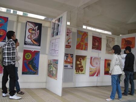 Triển lãm tranh của sinh viên ngành Kiến trúc toàn quốc - 1