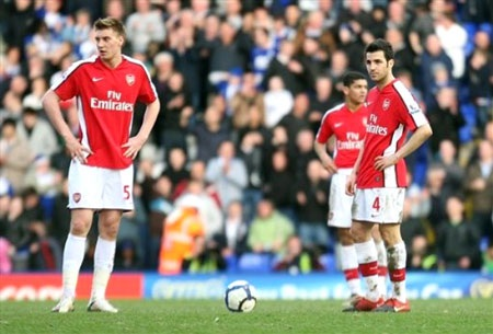 """""""Đánh rơi"""" chiến thắng phút cuối, Arsenal tự làm khó mình - 1"""