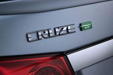 """Chevy Cruze phiên bản """"xanh"""" chuẩn bị ra mắt - 4"""