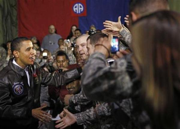 Tổng thống Mỹ Obama bất ngờ thăm Afghanistan - 2