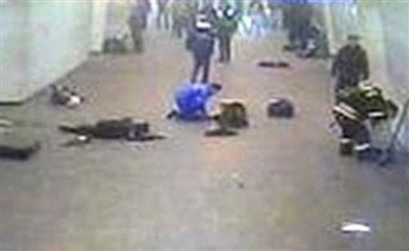 Đánh bom kép tàu điện ngầm Mátxcơva, 38 người chết - 2