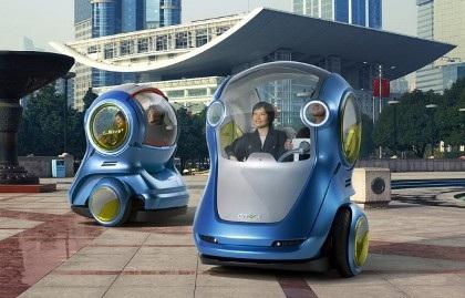 Giải pháp mới cho giao thông đô thị: GM EN-V - 1