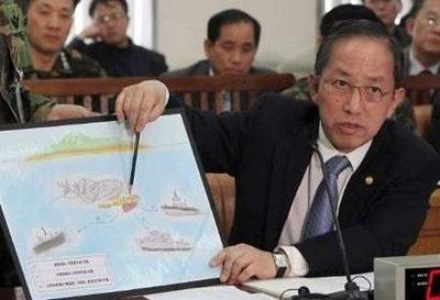 Tổng thống Hàn Quốc lệnh quân đội sẵn sàng sau vụ đắm tàu - 1
