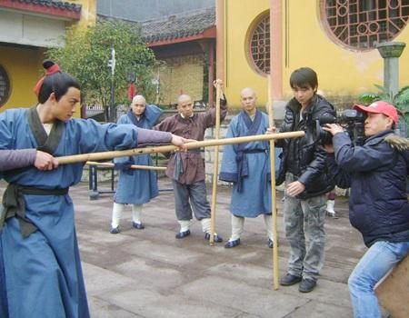 """Bật mí những hình ảnh """"Lý Công Uẩn"""" tại trường quay Trung Quốc - 7"""