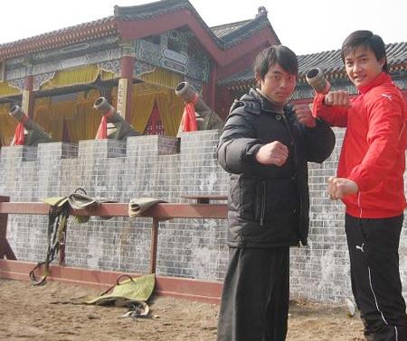 """Bật mí những hình ảnh """"Lý Công Uẩn"""" tại trường quay Trung Quốc - 3"""