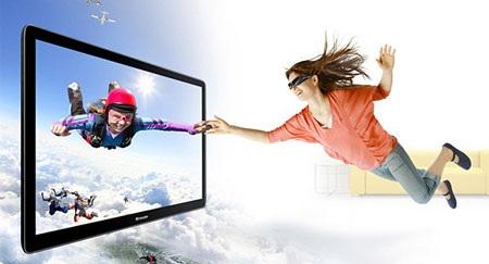 Sharp chính thức nhảy vào cuộc chiến TV 3D  - 1