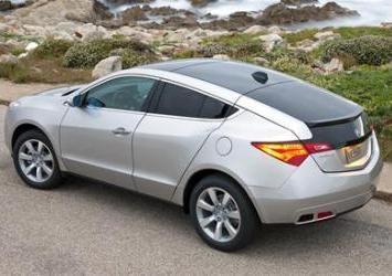 Xe Acura ZDX bị thu hồi do lỗi túi khí - 1