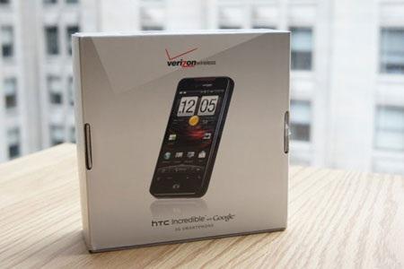 """Đập hộp """"siêu phẩm"""" HTC Droid Incredible  - 3"""