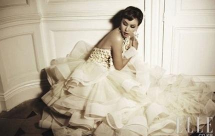 Go So Young sẽ mặc váy cưới của Oscar de la Renta - 2