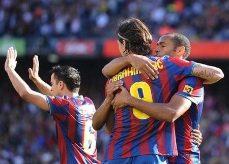 Đánh bại Xerez, Barcelona giữ vững ngôi đầu - 2