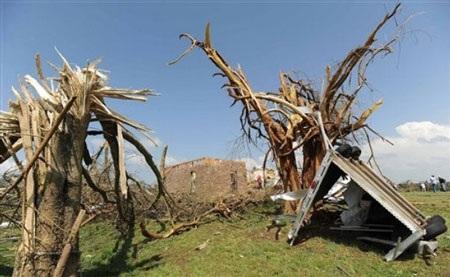 Mỹ: Lốc xoáy càn quét Mississippi, 10 người chết - 4