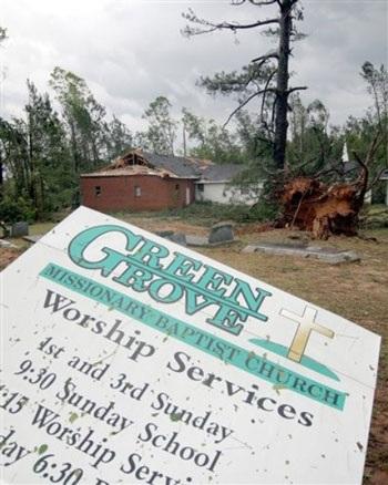 Mỹ: Lốc xoáy càn quét Mississippi, 10 người chết - 6