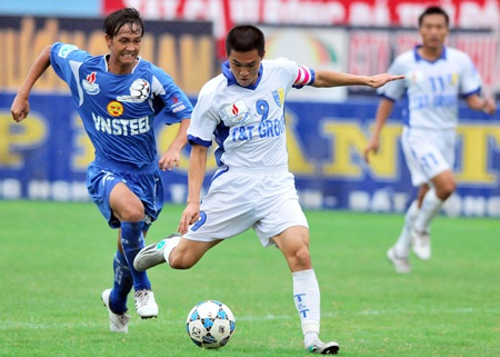 Công Vinh nghỉ thi đấu hết mùa giải V-League 2010 - 1