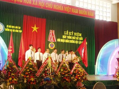 ĐH Đồng Tháp đón nhận Huân chương Độc lập hạng ba - 1