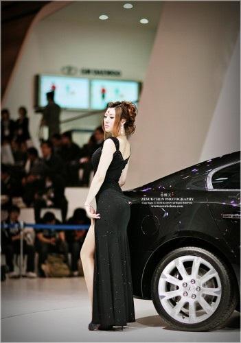 Rực rỡ nhan sắc Hàn tại Triển lãm ô tô Busan - 6