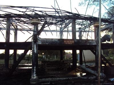 Cháy nhà rông lớn nhất Kon Tum - 2