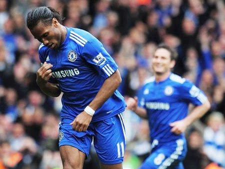 """Drogba suýt """"hận"""" Lampard trong ngày đăng quang - 1"""