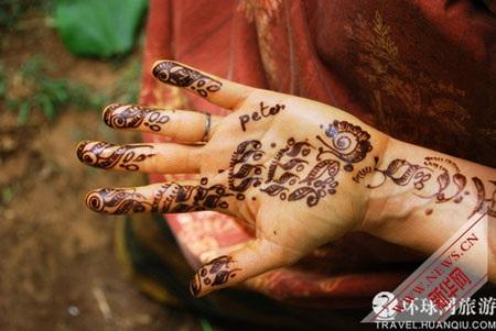 Nghệ thuật vẽ tay kỳ diệu ở Ấn Độ - 1