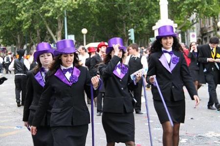 Bồ Đào Nha: Tưng bừng lễ diễu hành mừng Ngày Sinh viên  - 3