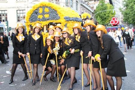 Bồ Đào Nha: Tưng bừng lễ diễu hành mừng Ngày Sinh viên  - 1