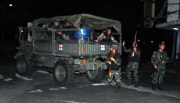 """Bangkok: Thêm 1 người bị bắn chết, 20 """"áo đỏ"""" bị bắt - 1"""