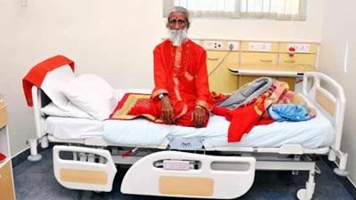 Cụ ông 82 tuổi vẫn khỏe sau 2 tuần nhịn ăn, nhịn uống - 1