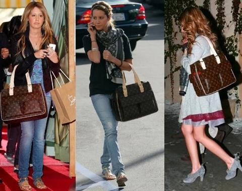 Ngắm bộ sưu tập túi Louis Vuitton của Ashley Tisdale - 14