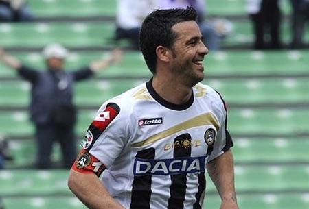 Milito liên tiếp về nhì cuộc đua Vua phá lưới Serie A - 1