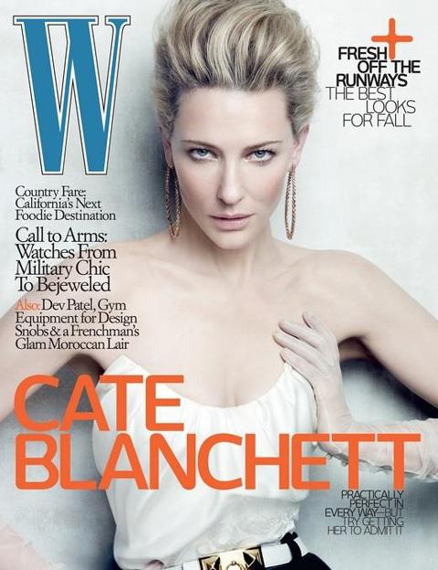 Cate Blanchett không quan tâm người khác nghĩ gì về mình - 1