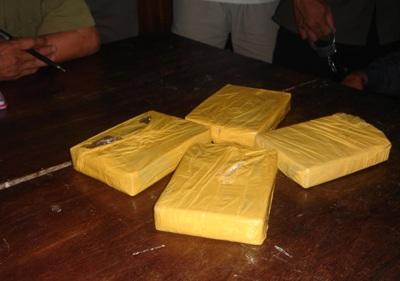 Bắt 3 đối tượng người Lào vận chuyển hơn 28 bánh hêrôin    - 1