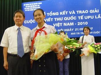 Trao giải nhất cho bức thư gửi đạo diễn Trương Nghệ Mưu - 1