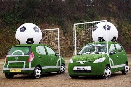Các hãng xe khởi động chiến dịch World Cup 2010  - 1