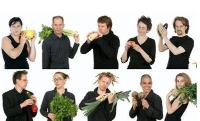 Kỳ diệu chơi nhạc bằng các loại rau, củ - 2
