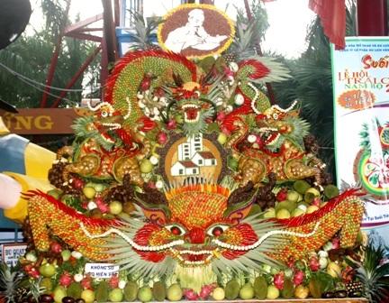 Lễ hội trái cây Nam bộ 2010: Rồng thiêng hội tụ   - 5