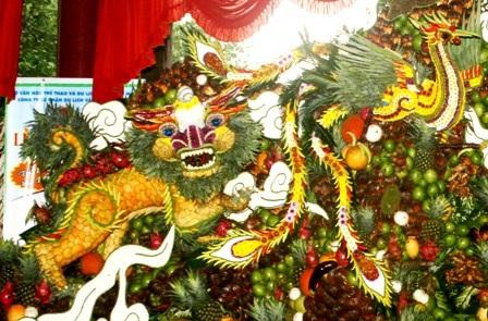 Lễ hội trái cây Nam bộ 2010: Rồng thiêng hội tụ   - 6