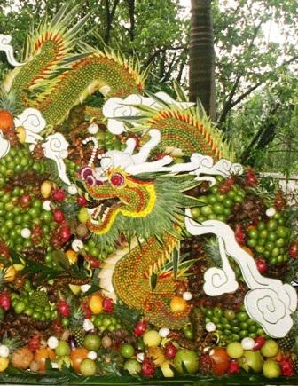 Lễ hội trái cây Nam bộ 2010: Rồng thiêng hội tụ   - 7
