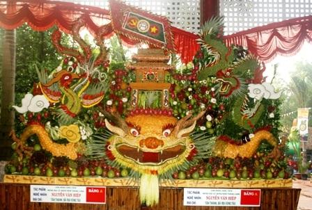 Lễ hội trái cây Nam bộ 2010: Rồng thiêng hội tụ   - 2