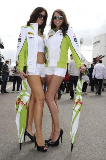 Chân dài trên đường đua Silverstone - 7