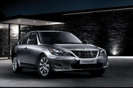 Hyundai Genesis bản 2011 dùng cần số giống BMW - 11