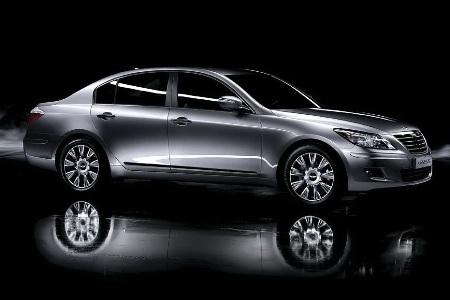 Hyundai Genesis bản 2011 dùng cần số giống BMW - 12