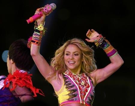 """Shakira cuồng nhiệt """"tiếp lửa"""" trận Chung kết World Cup - 1"""