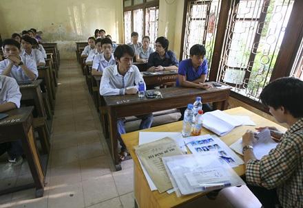 Hôm nay, thí sinh làm thủ tục dự thi Cao đẳng 2010 - 1