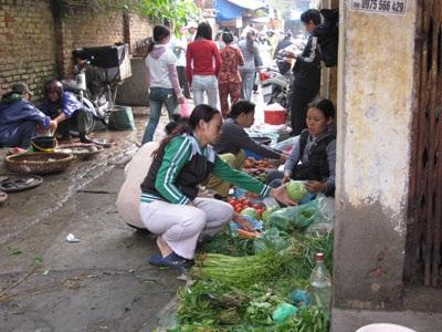 Hà Nội: Tích trữ lương thực đón bão - 1