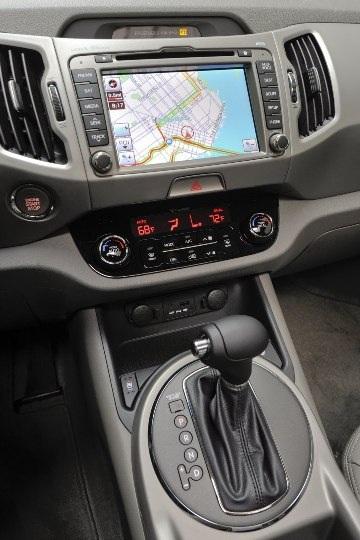 Kia báo giá xe Sportage 2011 - 7