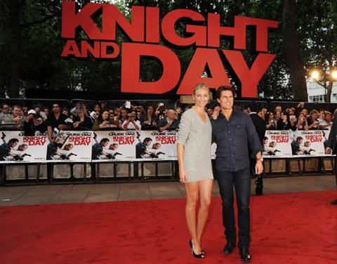 Cameron Diaz và Tom Cruise quảng cáo phim hot tại Anh - 1