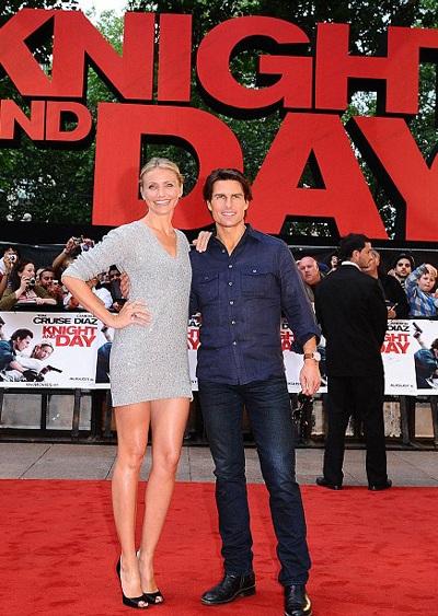 Cameron Diaz và Tom Cruise quảng cáo phim hot tại Anh - 5