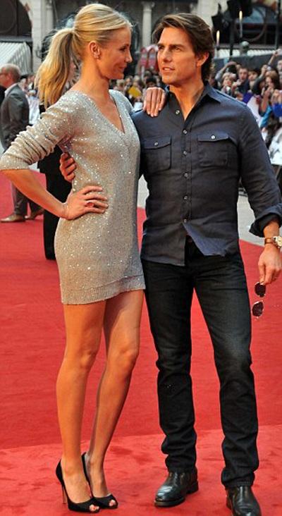 Cameron Diaz và Tom Cruise quảng cáo phim hot tại Anh - 6