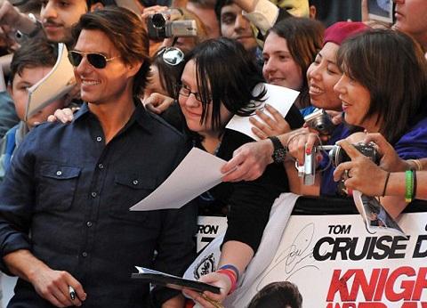 Cameron Diaz và Tom Cruise quảng cáo phim hot tại Anh - 7