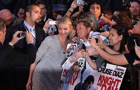 Cameron Diaz và Tom Cruise quảng cáo phim hot tại Anh - 9