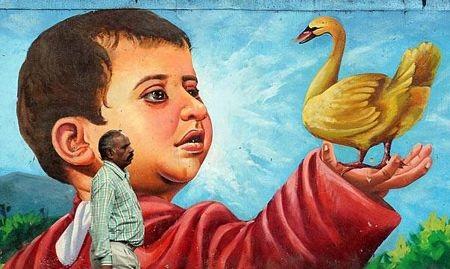 Kho bích hoạ sống động trên đường phố Bangalore - 11